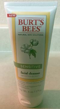Central Texas Mom Review Burt's Bees® Natural Skin Solutions Sensitive Skin