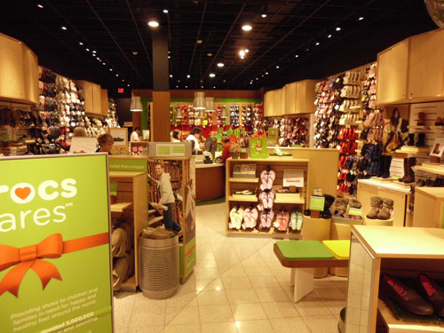 Central Texas Mom Review Crocs Store Grand Opening Barton Creek Square in Austin Texas
