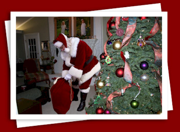 Central Texas Mom Review The Santa VIDEO Santa Claus in your home Christmas