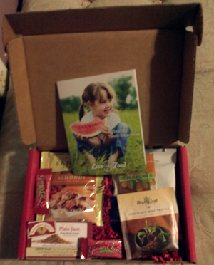 Central Texas Mom Review Love With Food - Gourmet food samples mail order