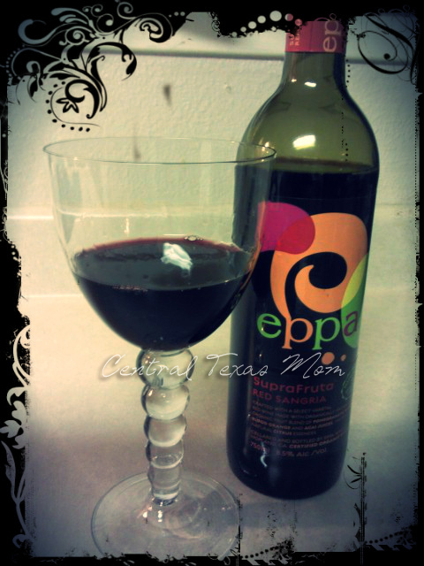 Review Eppa Superfruit Sangria certified organic Austin Texas