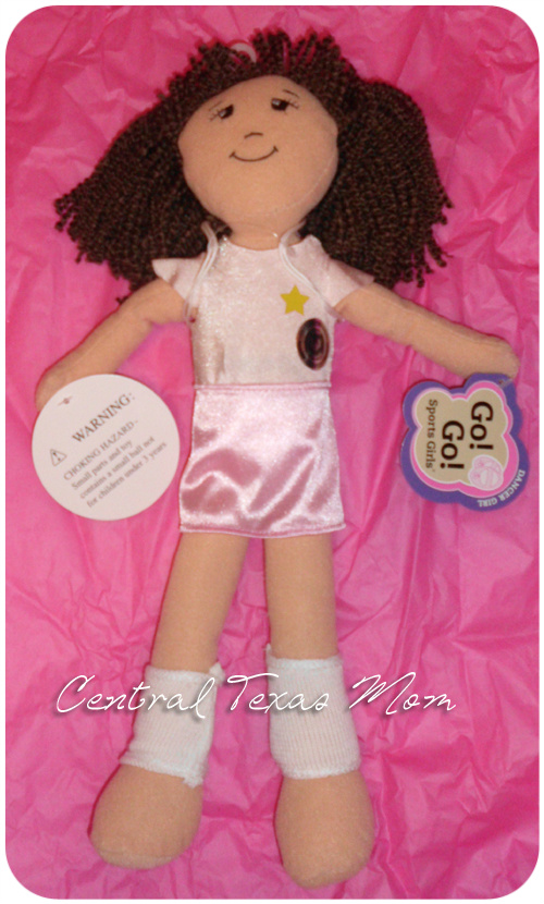 Central Texas Mom Review Go Go Sports Girl Doll Positive Healthy Image For Girls