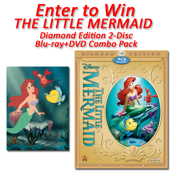 THE-LITTLE-MERMAID-Diamond-Edition-2-Disc-Blu-ray+DVD-Combo-Pack-Giveaway
