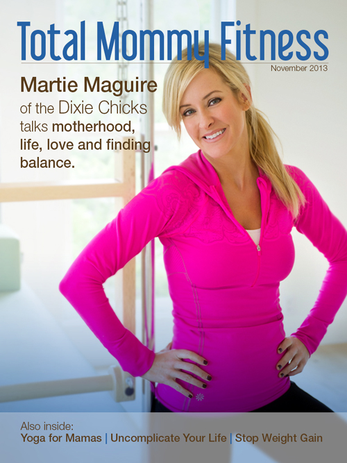 Total Mommy Fitness in Austin, TX launch digital fitness magazine with Dixie Chick Martie Maguire