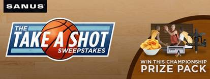 SANUS-Take-a-Shot-Sweepstakes