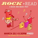 SPRING INTO READING WITH ROCK + READ EVENT AT THE DOMAIN