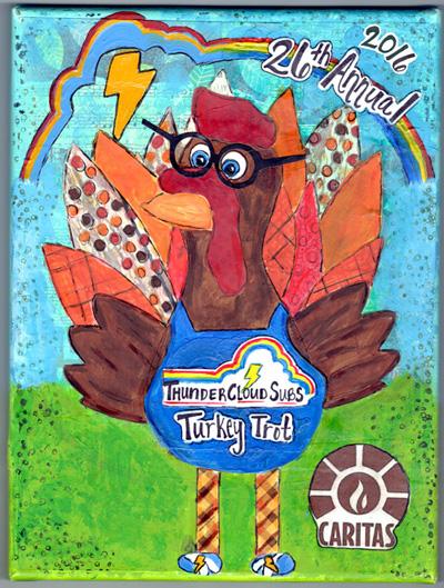 ThunderCloud Subs Turkey Trot reveals 2016 logo + event registration!