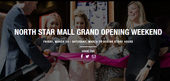 Grand Opening Event NYX Cosmetics at North Star Mall in San Antonio March 24th + 25th 2017