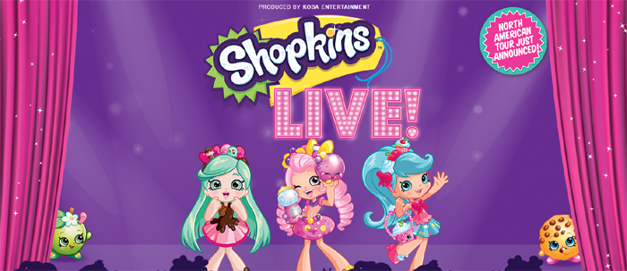 The Long Center Presents Shopkins Live! October 21st 2017