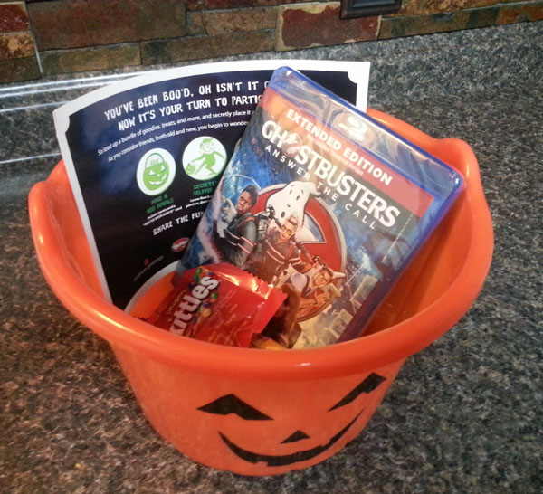 Ghostbusters Halloween #BooItForward new family tradition